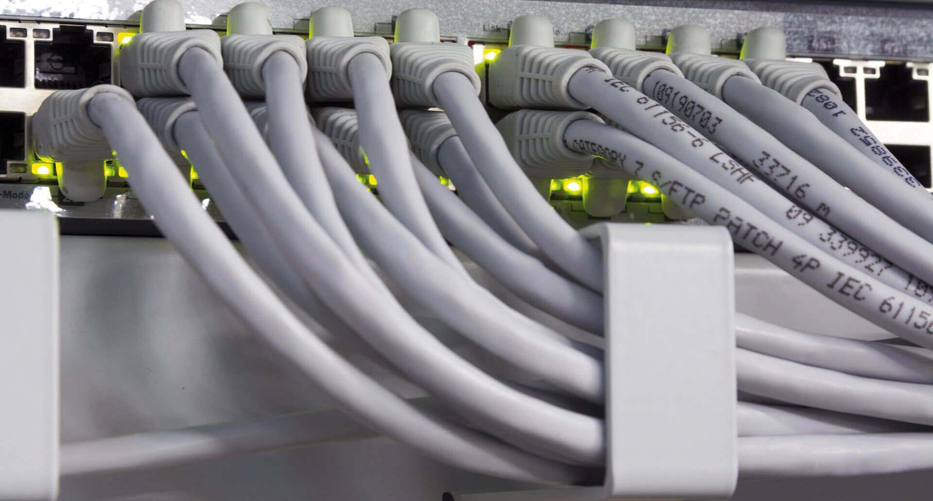 <p><strong>DATENTECHNIK</strong></p> <p>Schnell und sicher, das sind die obersten Prioritäten bei der Planung und der Installation einer Netzwerk-Infrastruktur...</p>
